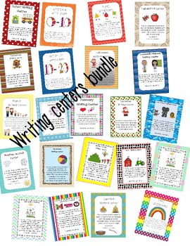 Writing centers bundled
