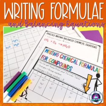 Chemical Formulas Activities Teaching Resources Teachers Pay Teachers