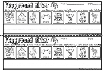 Writing exit tickets(FREE)