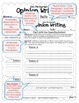 ULTIMATE WRITING BUNDLE - CCSS Anchor Charts & Generic Topic Writing Templates