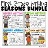 Writing about Seasons First Grade Bundle