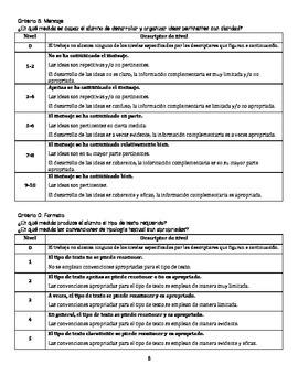 Writing for IB/AP Spanish (bullying) / El escribir para Español IB/AP (acoso)