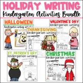 Writing for Kindergarten Holidays Bundle
