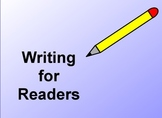Writing for Readers: Lucy Calkins Unit of Study Promethean