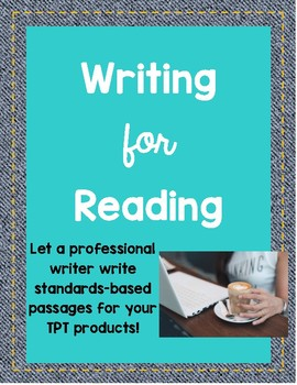 Writing for Reading Passages! - FREE Download