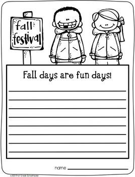 Writing for Second Grade Seasons Bundle