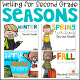 Writing for Second Grade Seasons Bundle