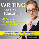 Writing for Special Education