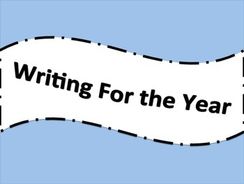 Writing for the Year