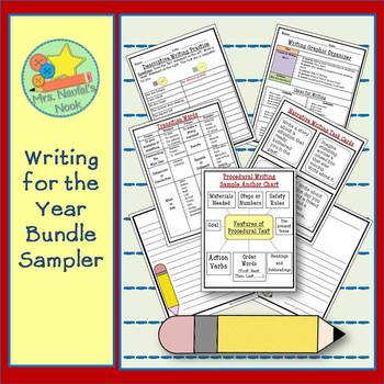 Writing for the Year Sampler