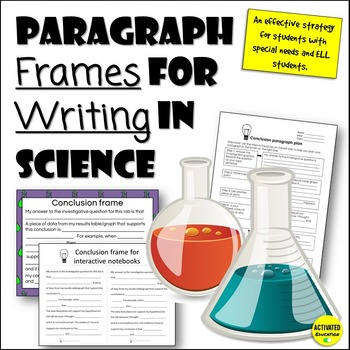 Science Sentence Frames: Sc... by Activated Education | Teachers ...