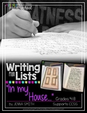 Writing from Lists: In My House...