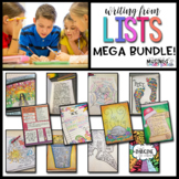 Writing from Lists: MEGA Bundle