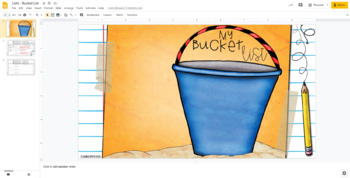 Writing from Lists: My Bucket List