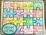 Writing from Lists: Pieces of Me