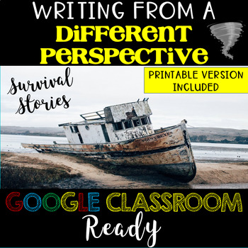 Writing from a Different Perspective Activity - Common Core Aligned