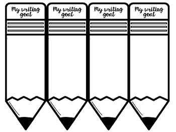 Writing goal individual