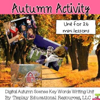 Autumn Writing Prompts Unit