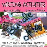 Seasonal Scenes Writing Prompts Unit Bundle