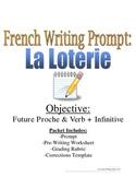 Future Proche French Writing Prompt & Rubric