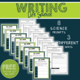 Science Writing Prompts - Life Science