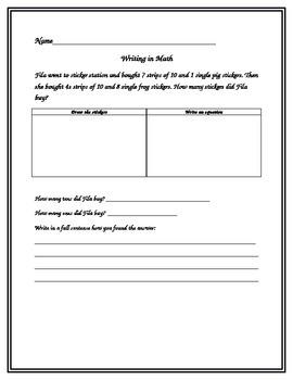 Writing in Math 4