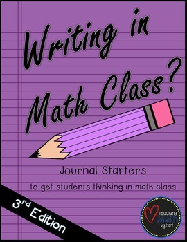 Writing in Math Class? - 3rd Edition
