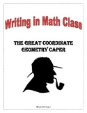 Writing in Math Class - Classify Quadrilaterals by Coordinates