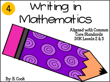 Writing in Mathematics: Grade 4