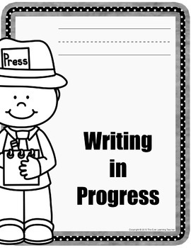 """""""Writing in Progress"""" for individual students"""