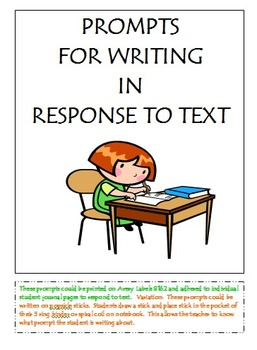 Writing in Response to Text