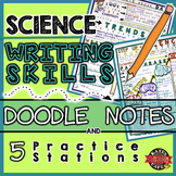 Writing in Science: Doodle Notes and Stations for Science