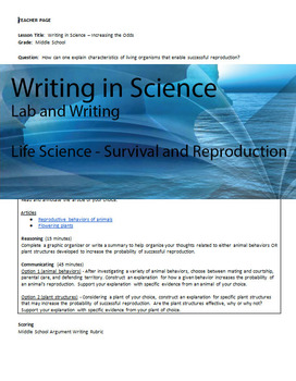 Writing in Life Science - Increasing the Odds