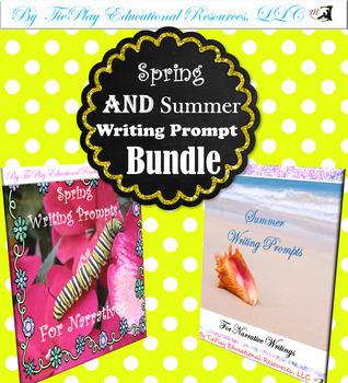 Spring & Summer Writing Prompts Bundle