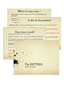 """Writing in """"The Pattern"""""""