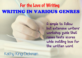 Writing in Various Genres