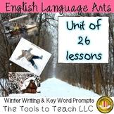 Winter Scenic Writing Prompts Unit