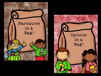 Writing in a Bag Bundle