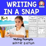 Winter Writing for Kindergarten and First Grade