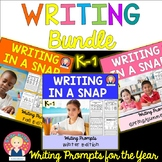Writing Bundle for the Year for K-1 for At Home Learning