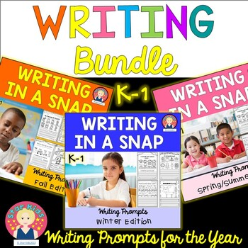 Writing in a Snap for the Year {The Bundle ~  K-1}