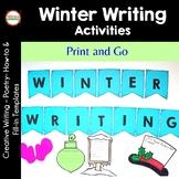 Winter Writing Activities {No Prep}