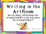 Writing in the Art Classroom