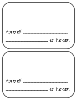 Writing in the Past Tense: Todo sobre Kinder