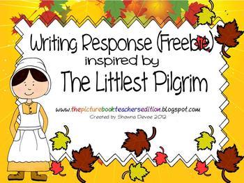 Writing inspired by The Littlest Pilgrim