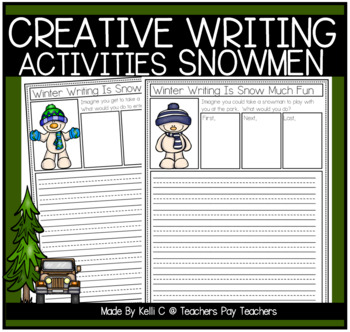 Writing is Snow Much Fun- Narrative and Opinion Writing about Snowmen