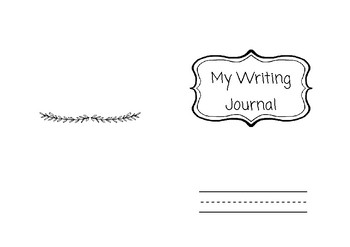 Writing journal pages