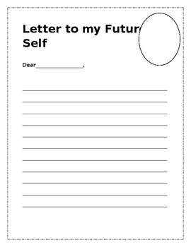 Writing-letter to my future self