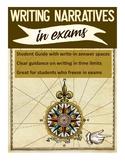 Writing narratives in exams