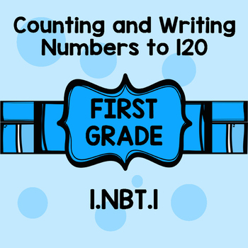 1st grade Writing numbers and number words to 120 COMMON CORE 1.nbt.1